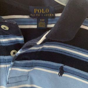 Polo Shirt size 4 stripe